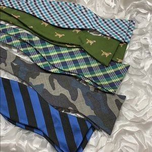 Set of 5 bow ties